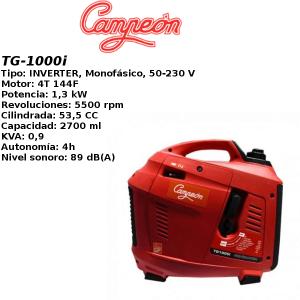Generador inverter campeon TG-1000i