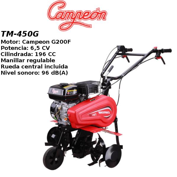 Motoazada Campeon TM-450G 6,5cv