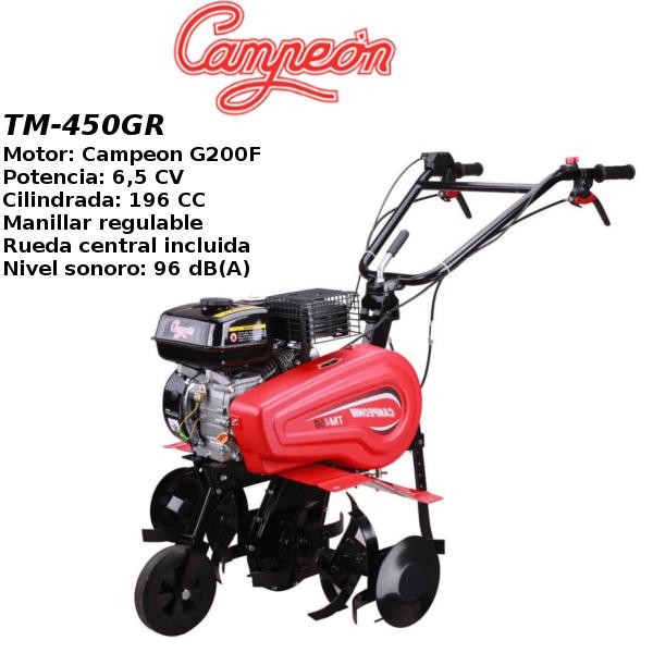 Motoazada Campeon TM-450GR