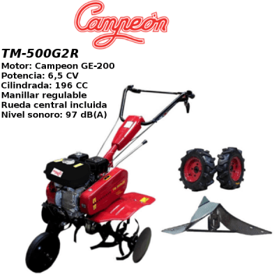 Motoazada Campeon TM-500G2R