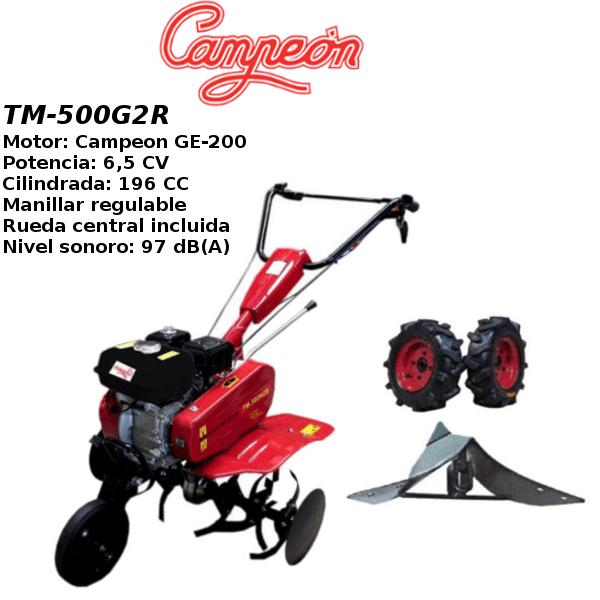 Motoazada Campeon TM-500G2R