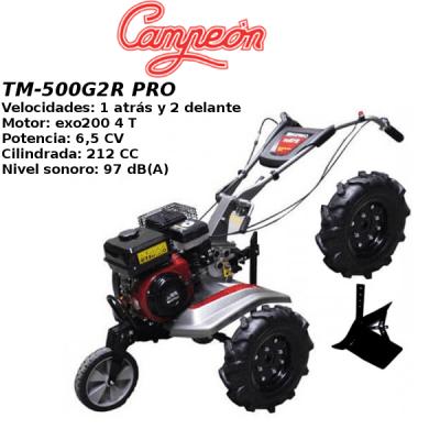 Motoazada Campeon TM-500G2R PRO