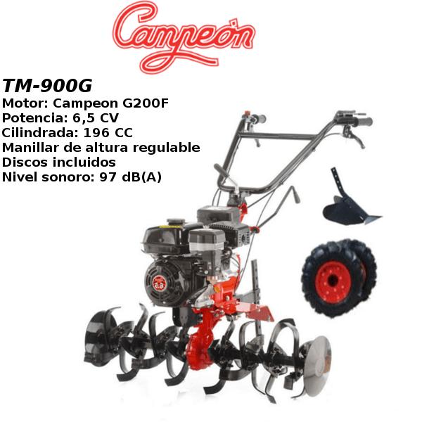 Motoazada Campeon TM-900G 6,5cv