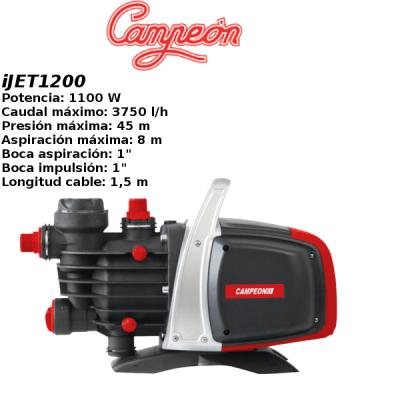 Grupo de presion campeon iJET1200