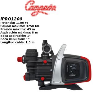 Grupo de presion campeon iPRO1200