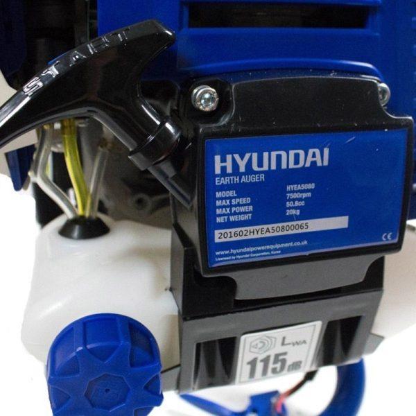 Hyundai HYEA5080 hoeing machine