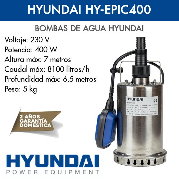 Bomba de agua Hyundai HY-EPIC400