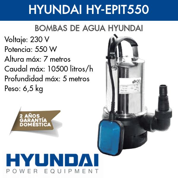 Bomba de agua Hyundai HY-EPIC550