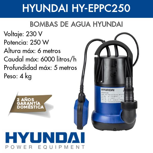 Bomba de agua Hyundai HY-EPPC250