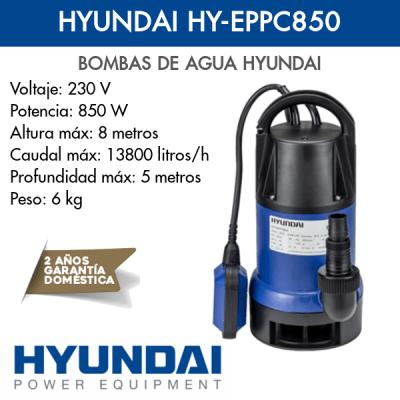 Bomba de agua Hyundai HY-EPPC850