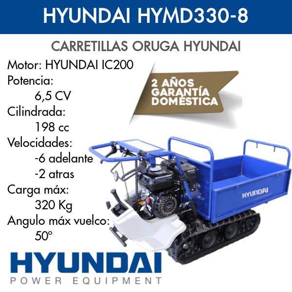 Carretilla Oruga Hyundai HYMD330-8 Intermaquinas