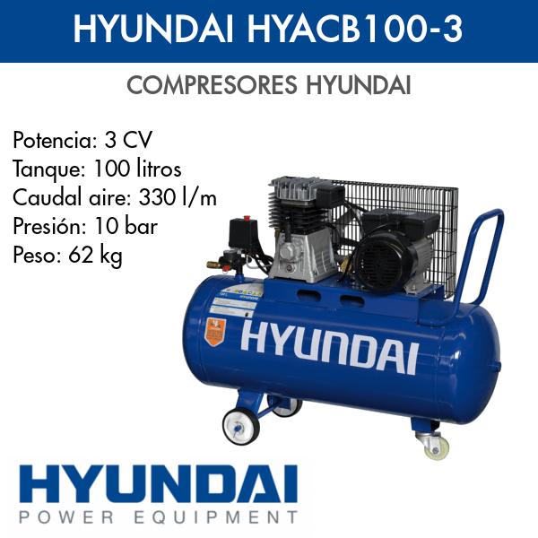 Compresor Hyundai HYACB100-3