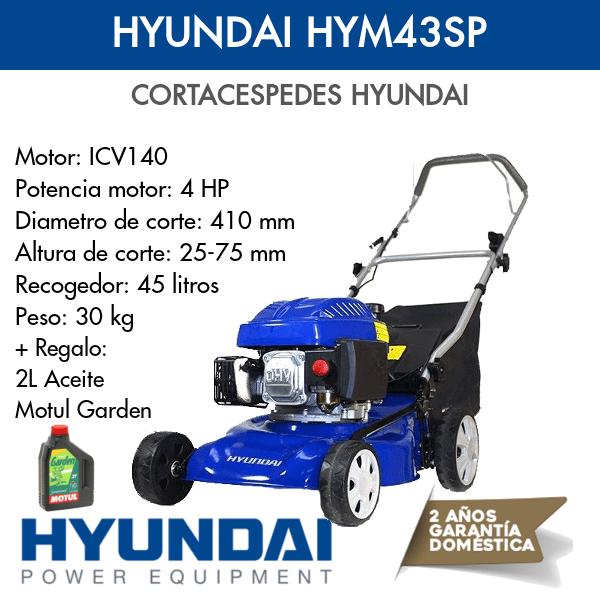 Cortacespedes HYundai HYM43SP