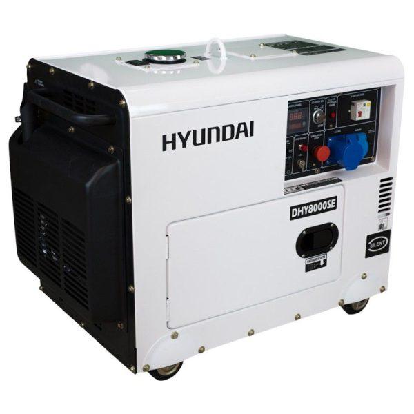 Generador electrico HYUNDAI DHY8500SE diésel A-E