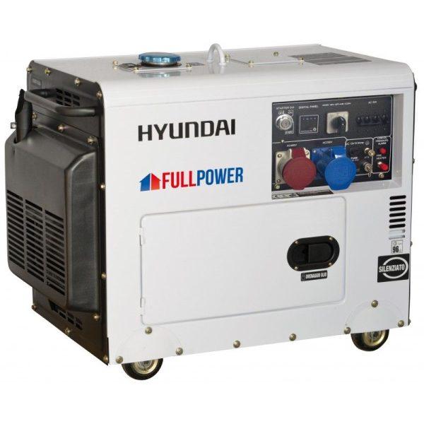 Generador electrico HYUNDAI DHY8500SET A/E TRIF