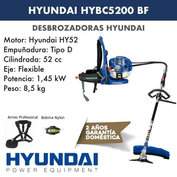 Desbrozadora Hyundai HYB5200 BF