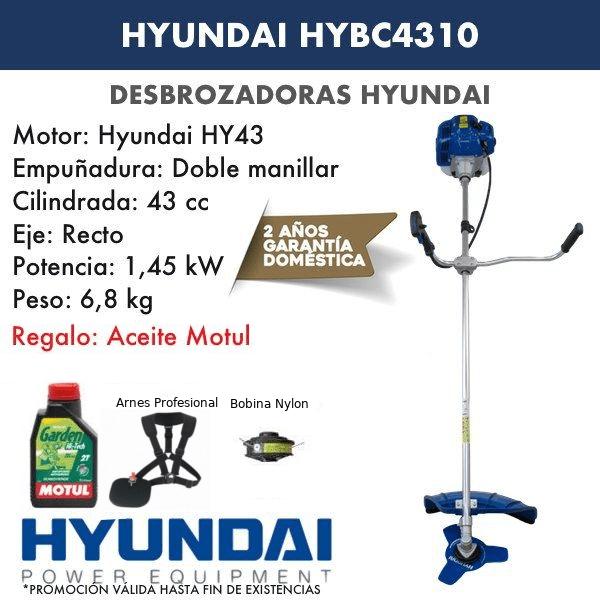 Desbrozadora Hyundai HYBC4310