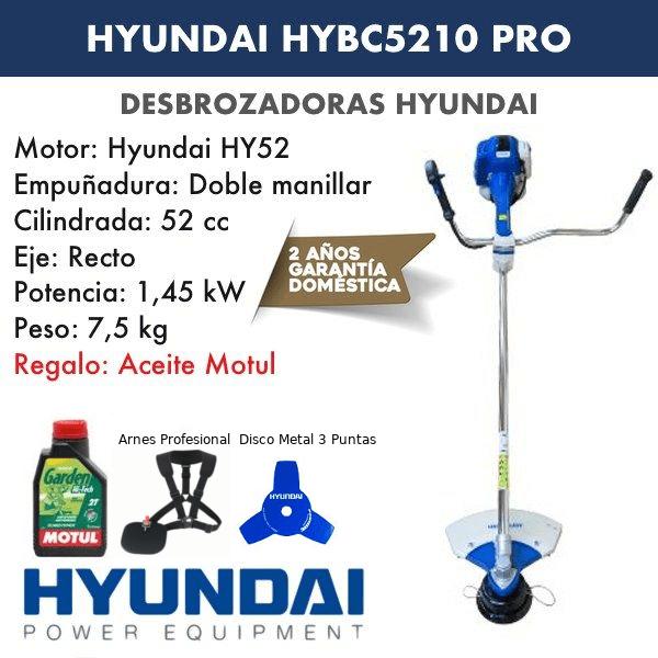 Desbrozadora Hyundai HYBC5210