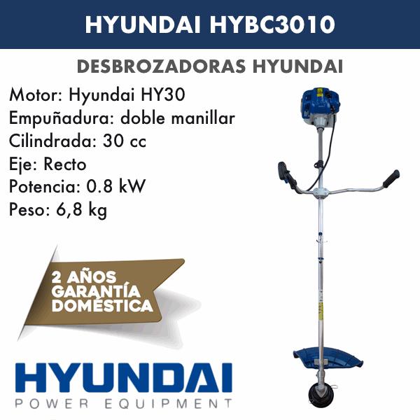 Desbrozadoras Hyundai HYBC3010