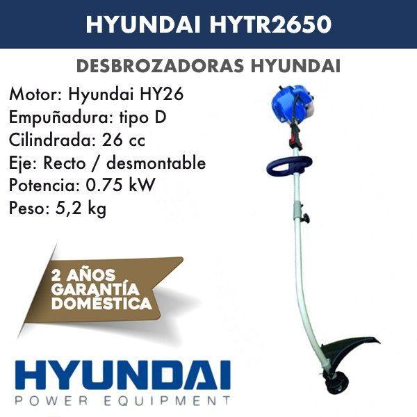 Desbrozadoras Hyundai HYTR2650