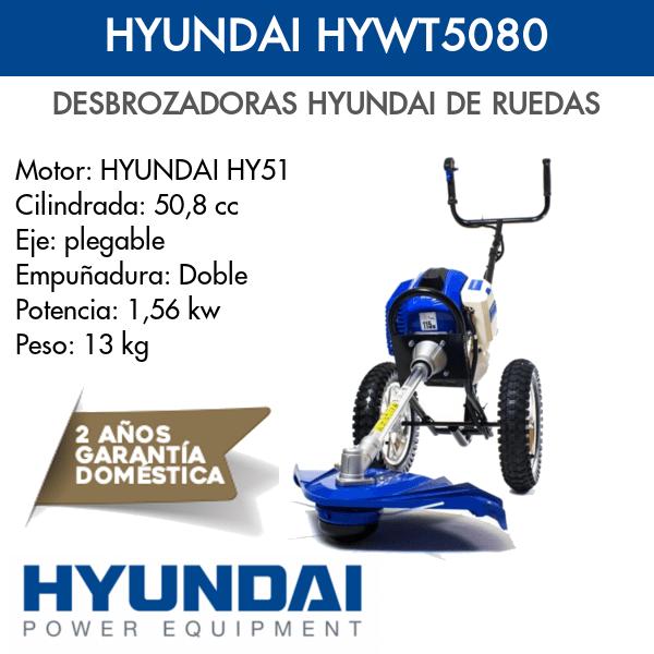 Desbrozadoras hyundai HYWT5080 Intermaquinas