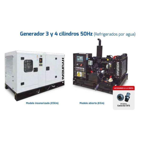 Generadores Hyundai DHY18K(S)Em diesel monofásicos