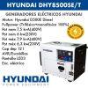 Generador eléctrico Hyundai DHY8500SET