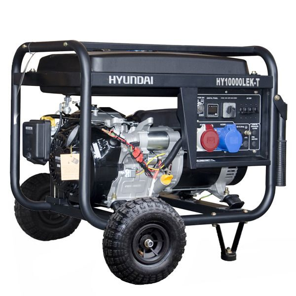 Generador electrico HYUNDAI HY10000LEK/T