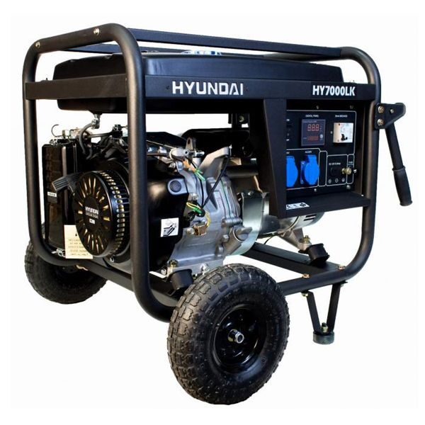 Generador HYUNDAI HY7000LK LED 5,5 kW