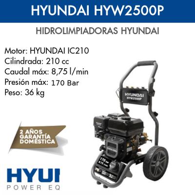 Hidrolimpiadora Hyundai HYW2500P