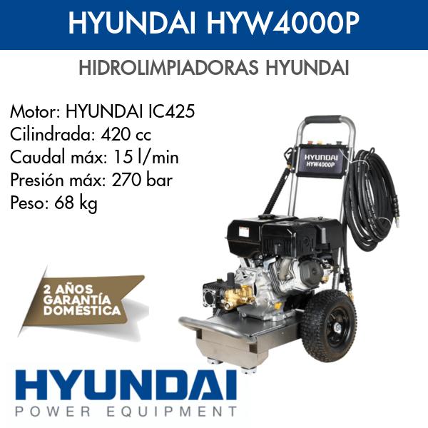 Hidrolimpiadora Hyundai HYW4000P