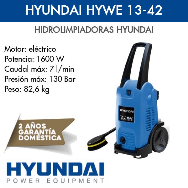Hidrolimpiadora Hyundai HYWE 13-42