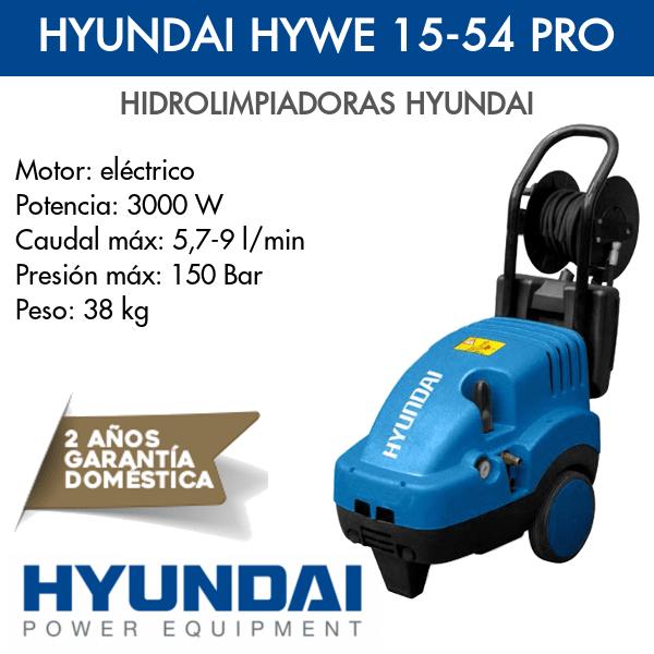 Hidrolimpiadora Hyundai HYWE 15-54 PRO