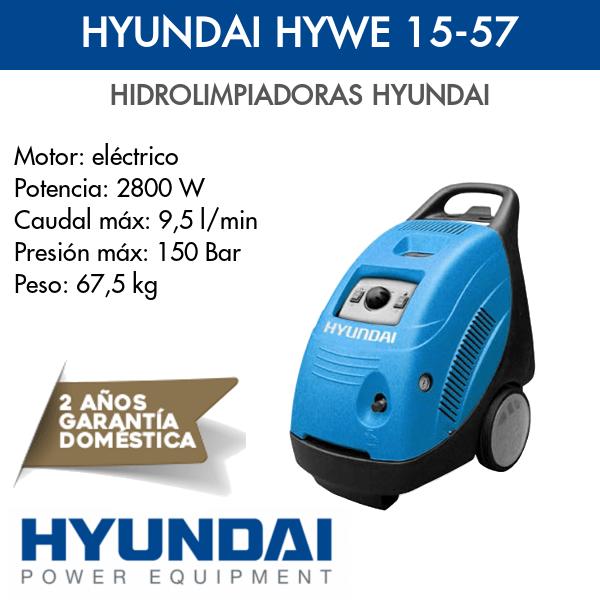 Hidrolimpiadora Hyundai HYWE 15-57