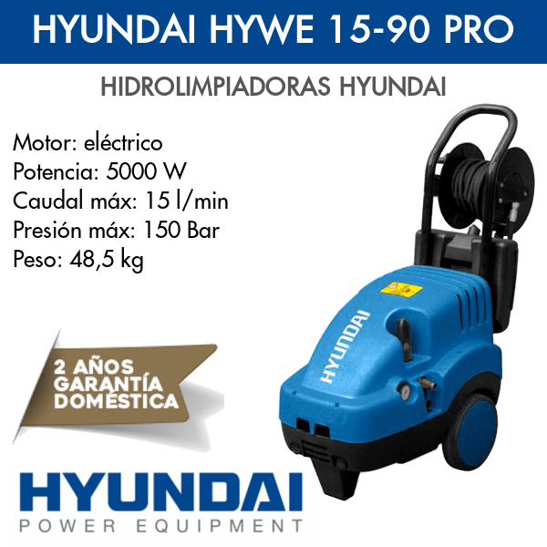 Hidrolimpiadora Hyundai HYWE 15-90 PRO