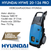 Hidrolimpiadora Hyundai HYWE 20-126 PRO