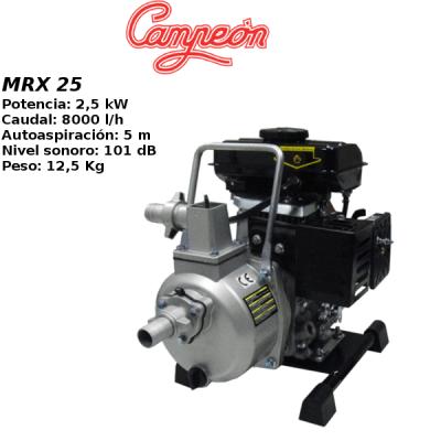 Motobomba Campeon MRX 25
