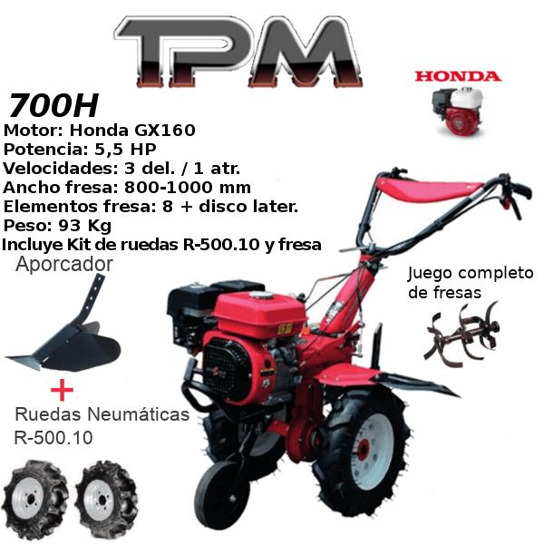 Motoazada TPM 700H
