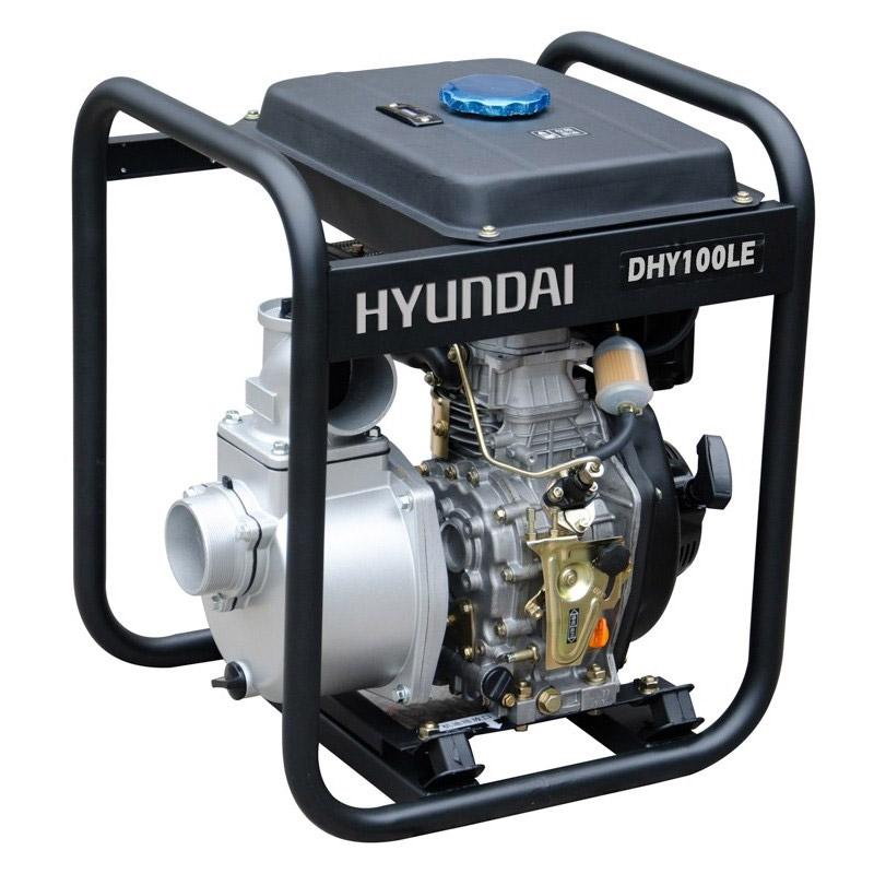 Motobombas diesel Hyundai DHY100LE