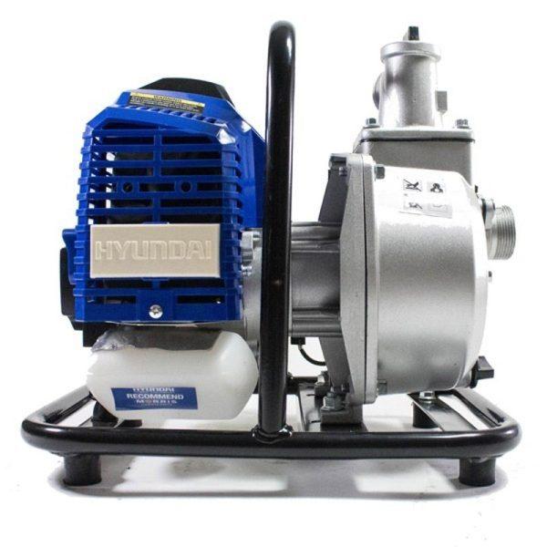 Hyundai HY40-2 gasoline water pumps of 2,1 hp, 250 l / m, alt. max. 30 m.