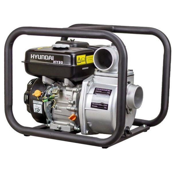Hyundai HY80 Benzin-Wasserpumpen von 7,0 PS, 1000L / MIN, alt. max. 30 Mio.