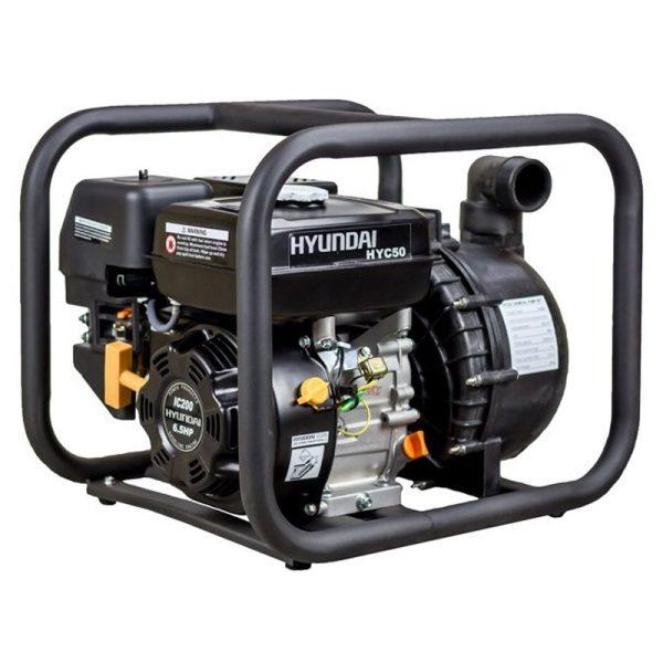 Motobombas gasolina Hyundai HYC50 de 7,0 HP, 500 l/m, alt. máx. 30 m.