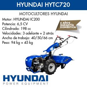Motocultor Hyundai HYTC720