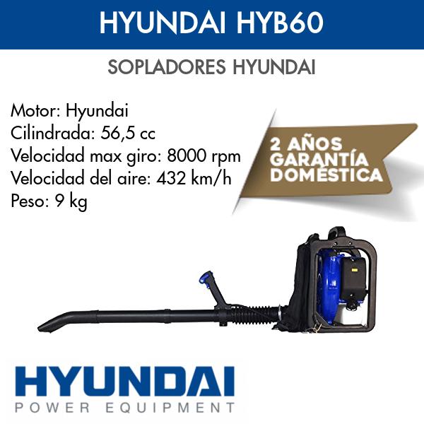 Soplador Hyundai HYB60