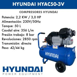 Compresor Hyundai HYAC50-3V