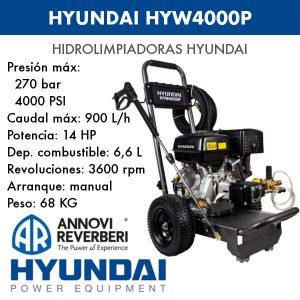 Hidrolimpiadora agua fría Hyundai HYW4100P