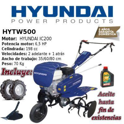 Motoazadas Hyundai HYTW500