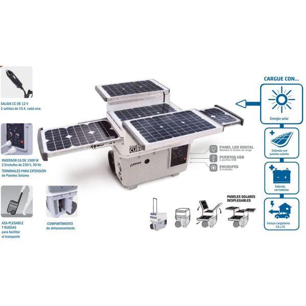 Solar Bucket Generator Hyundai 1500 Wagan plus