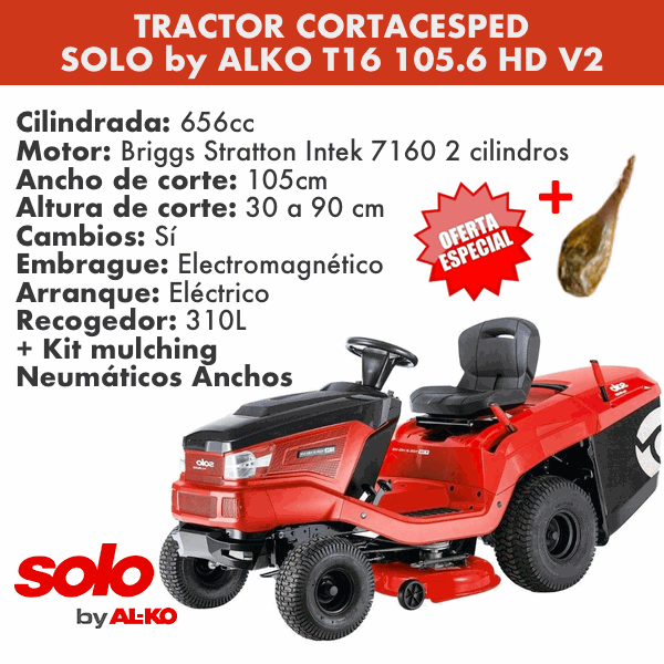 Banner Tractor Cortacesped Solo 2