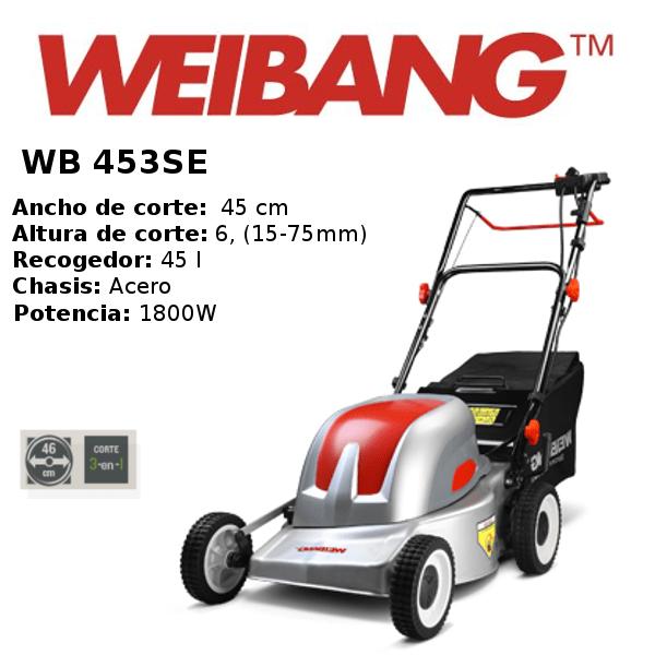 Cortacesped-weibang- WB 453SE